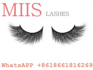 lashes with packaging custom